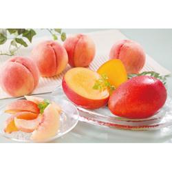 桃とマンゴー