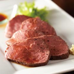 北海道産牛のローストビーフ