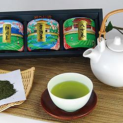 静岡茶・宇治茶・八女茶詰合せ