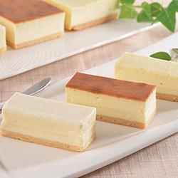 十勝ドルチェ3種のチーズケーキ