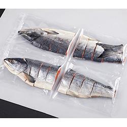 知床鮭姿切身2kg