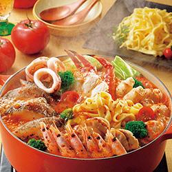 北海道海鮮トマト鍋