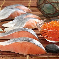 北海道産鮭・いくら詰合せ